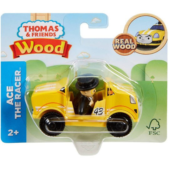 Fisher-Price Thomas & Friends Wood Ace the Racer image number null