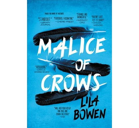 Malice of Crows -  (Shadow) by Lila Bowen (Hardcover) - image 1 of 1
