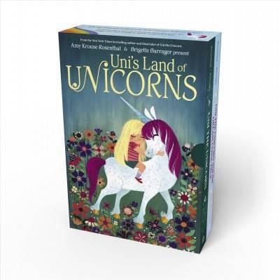 Uni's Land of Unicorns Board Book Boxed Set - (Uni the Unicorn) by  Amy Krouse Rosenthal (Mixed Media Product)