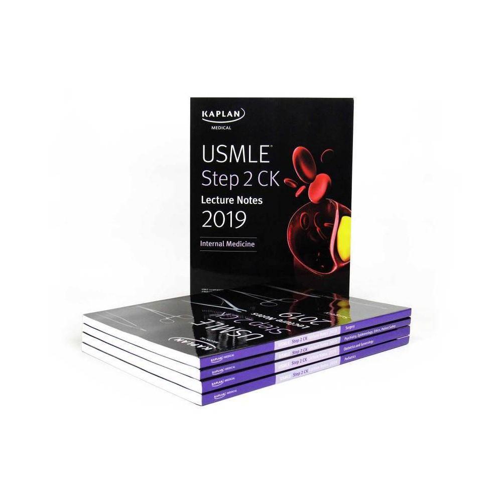 Usmle Step 2 Ck Lecture Notes 2019: 5-Book Set - (Kaplan Test Prep) (Paperback)