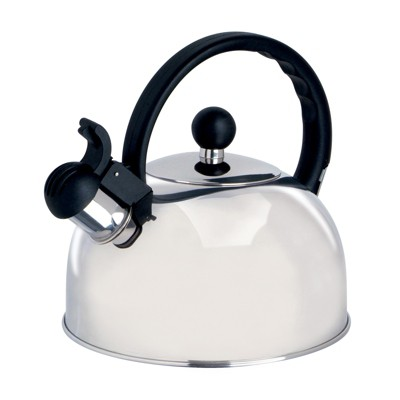 Gibson Springberry 2.25 Qt. Stainless Steel Kettle
