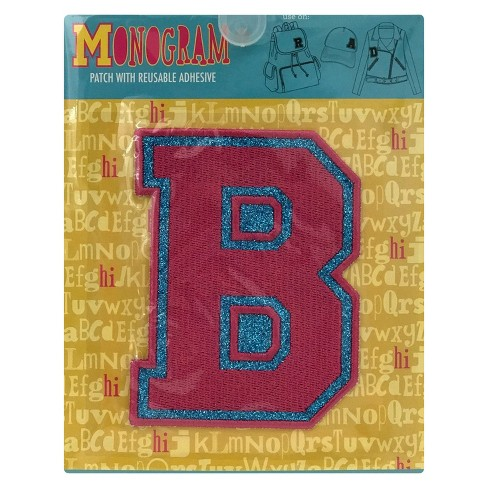 Fashion Assorted Letters B Patch With Reusable Adhesive - image 1 of 1