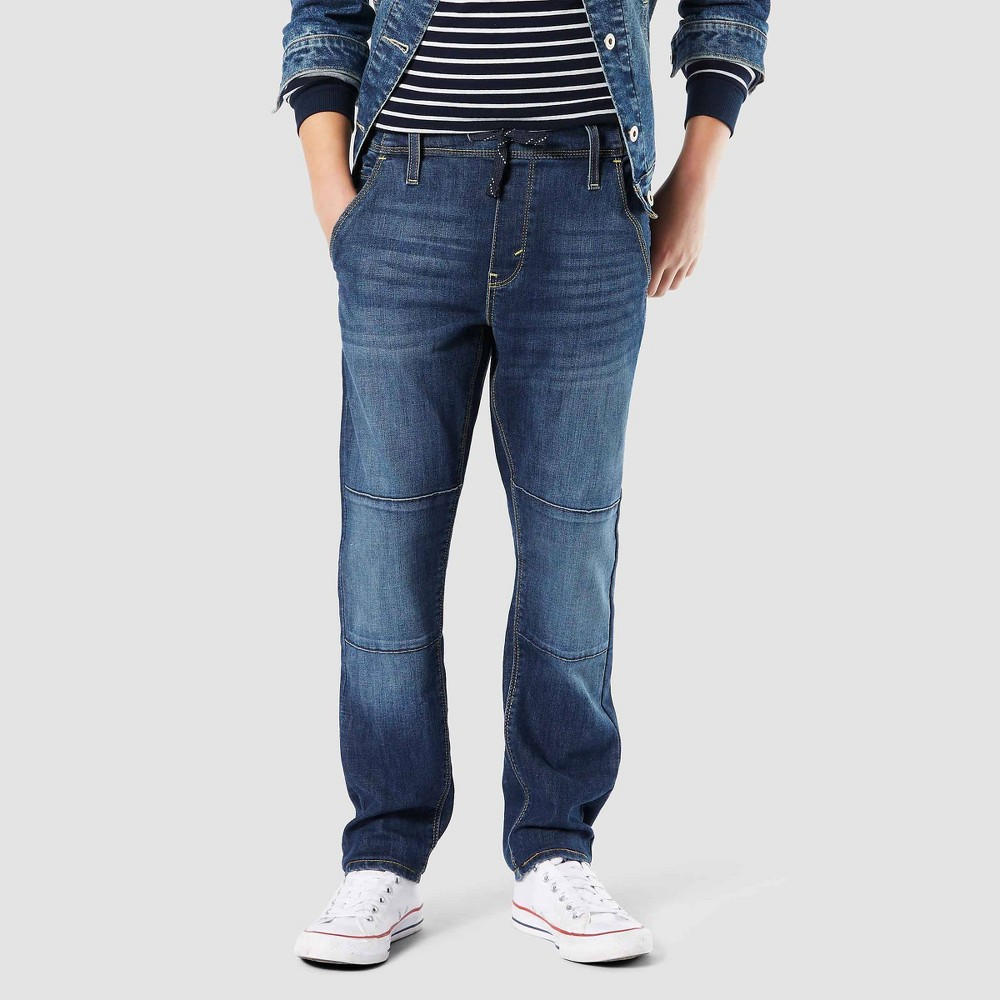 Image of DENIZEN from Levi's Boys' 208 Athleisure Taper Jeans - Quest - 10, Boy's, Blue