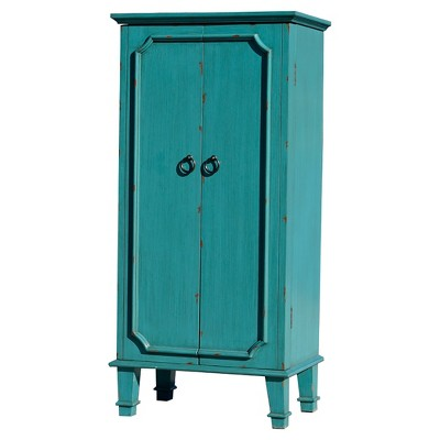 Cabby Jewelry Armoire Turquoise - Hives & Honey