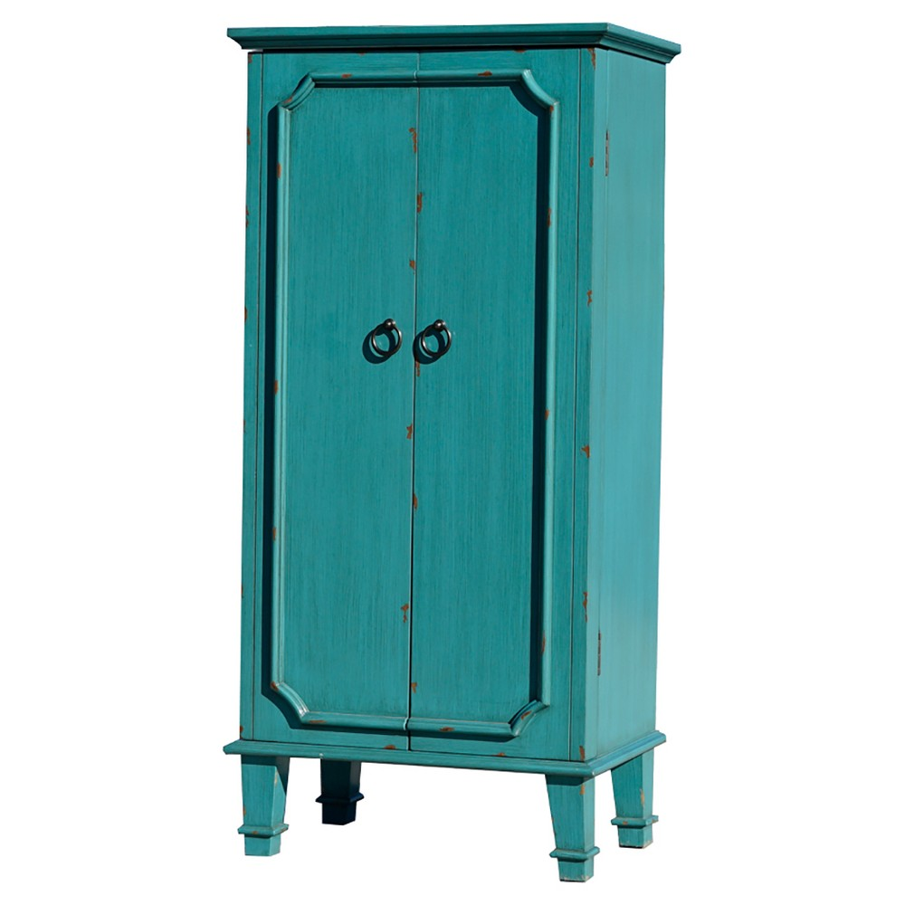 Image of Cabby Jewelry Armoire Turquoise - Hives & Honey, Green