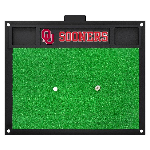NCAA Oklahoma Sooners Fan Golf Hitting Mat - image 1 of 1