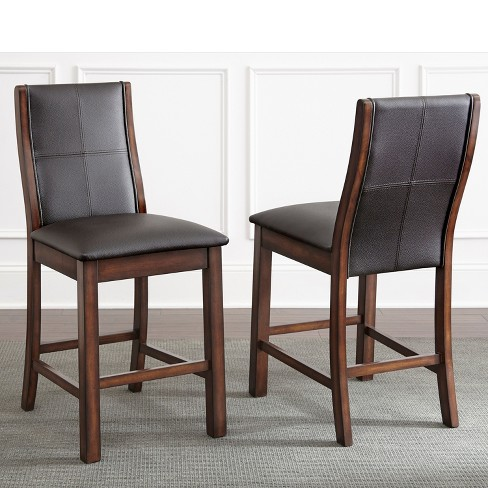 Xander Counter Chair Dark Brown (Set of 2) - Steve Silver - image 1 of 1