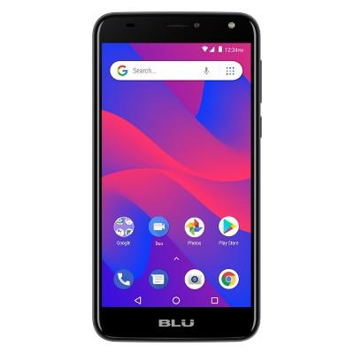 "BLU C6 C031P 5.5"" Smartphone 16 GB (GSM Unlocked) - Gray"