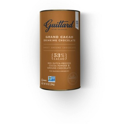Guittard Grand Cacao Drinking Chocolate Powder - 10oz