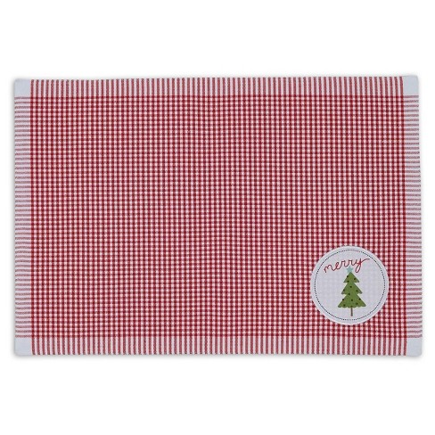 "6pk Red Placemat (13""x19"") - Design Imports - image 1 of 1"