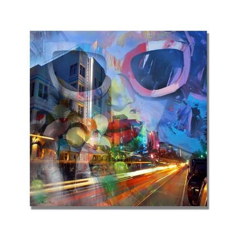 "Trademark Fine Art 24"" x 24"" South Beach II' Canvas Art - image 1 of 4"
