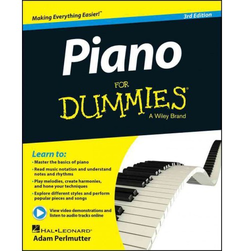 Piano for Dummies (Paperback) (Adam Perlmutter) - image 1 of 1