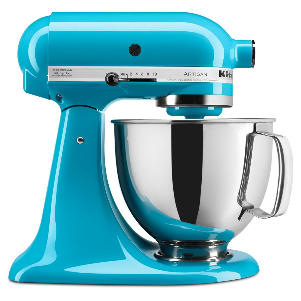 KitchenAid Artisan Series 5 Quart Tilt-Head Stand Mixer- Ksm150, Crystal Blue 50317086