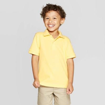 3aa5ca00e Toddler Boys' Short Sleeve Pique Uniform Polo Shirt - Cat & Jack ...