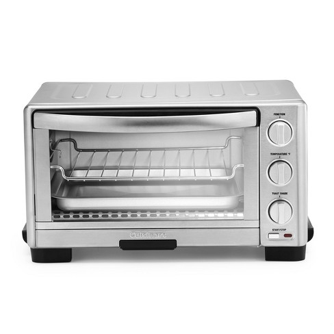Cuisinart Toaster Oven Broiler - Stainless Steel - TOB-1010 - image 1 of 4