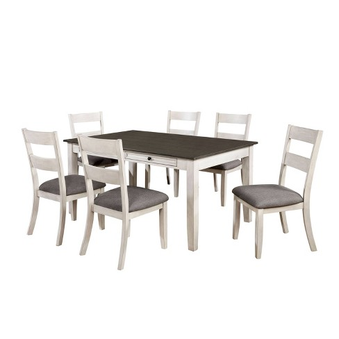7pc Acker Dining Set Gray - HOMES: Inside + Out - image 1 of 4