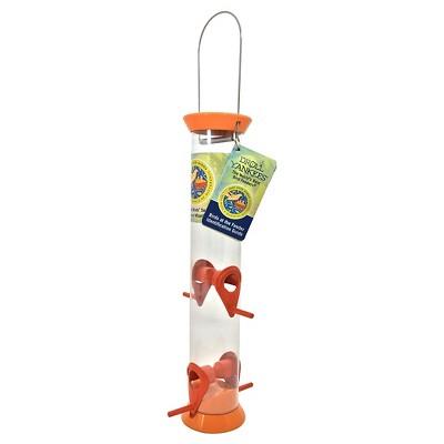 Droll Yankees Just Feed Birds Songbird Feeder - Orange - 15