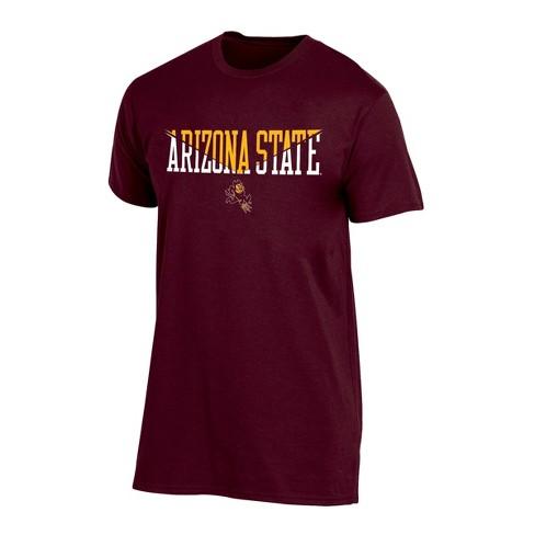Arizona State Sun Devils Men's Short Sleeve Core Wordmark T-Shirt - Heather - image 1 of 2