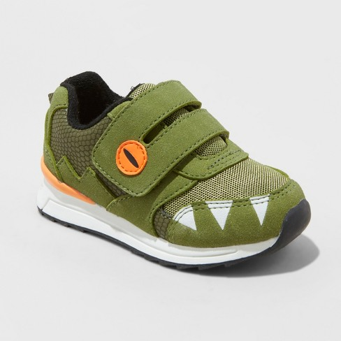 Toddler Boys' Monte Sneakers - Cat & Jack™ Green - image 1 of 3