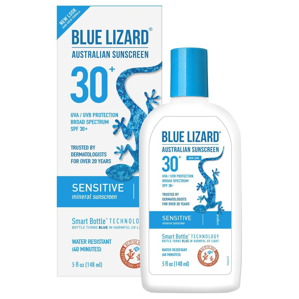 Image of Blue Lizard Sensitive Sunscreen Lotion - SPF 30 - 5 fl oz