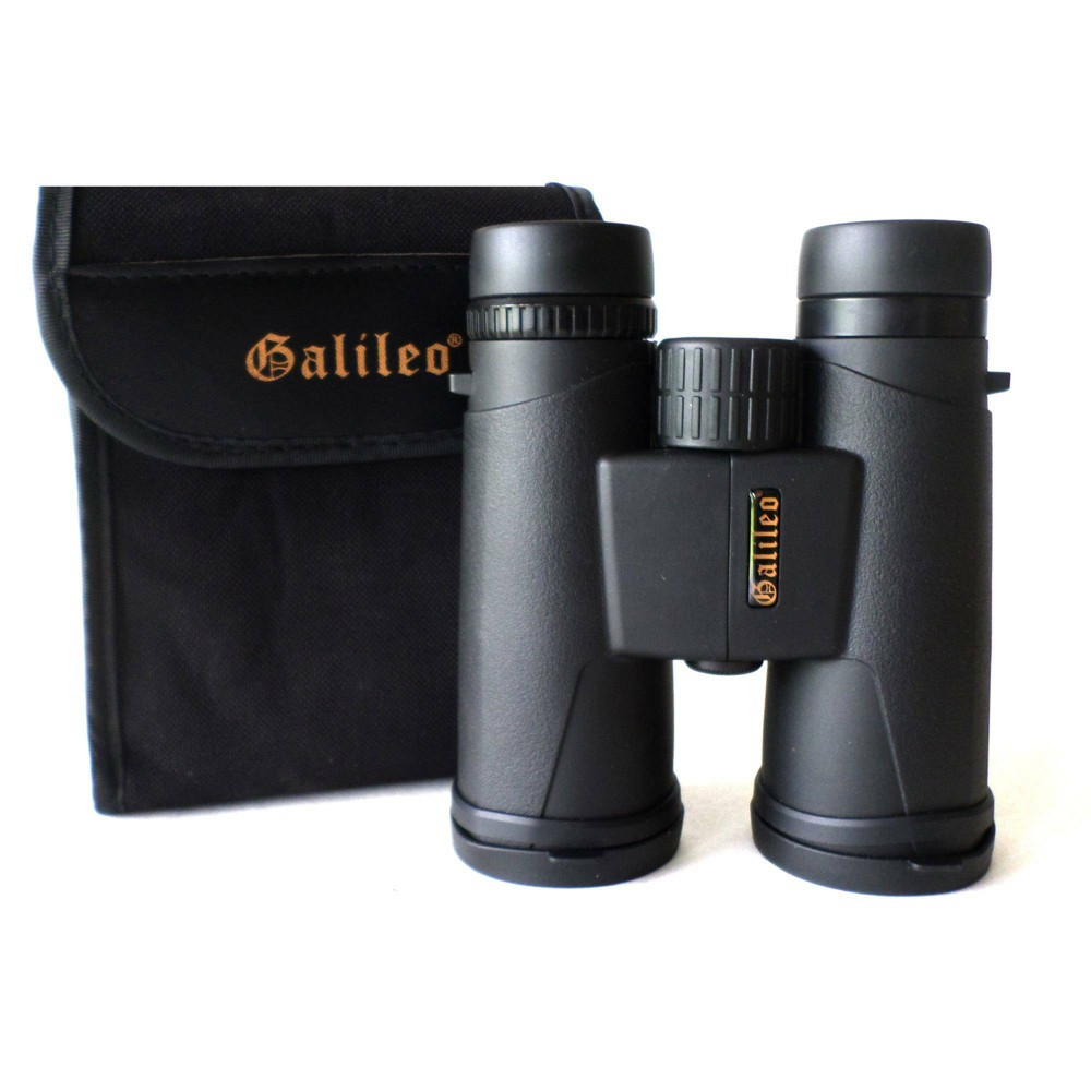 Image of Galileo G-1042C 10x42mm Water and Fog Proof Prism Roof Binocular, Black