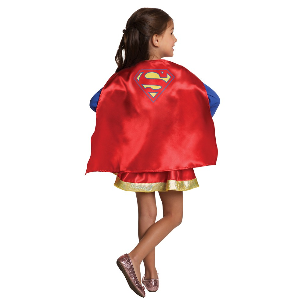DC Super Hero Girls' Supergirl Dress-up Kit, Size: Small