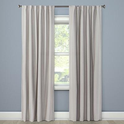 Blackout Curtain Panel Gray 84  - Threshold™