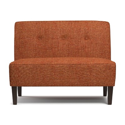 Bryce Button Tufted Settee - Handy Living