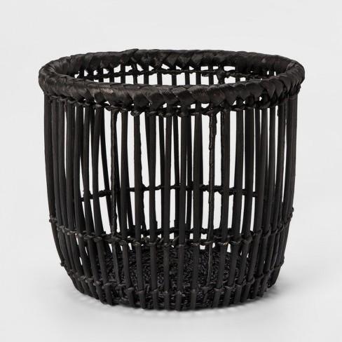 Decorative Basket - Black - Project 62™ - image 1 of 3