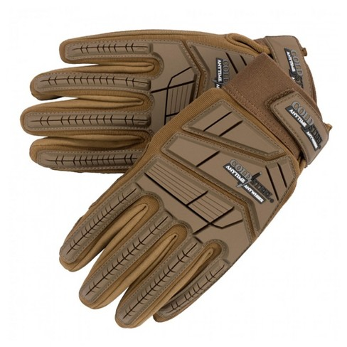 Cold Steel GL22 Universal Use Protective Military Combat Training Tactical Gloves, Size Large, Coyote Tan - image 1 of 4