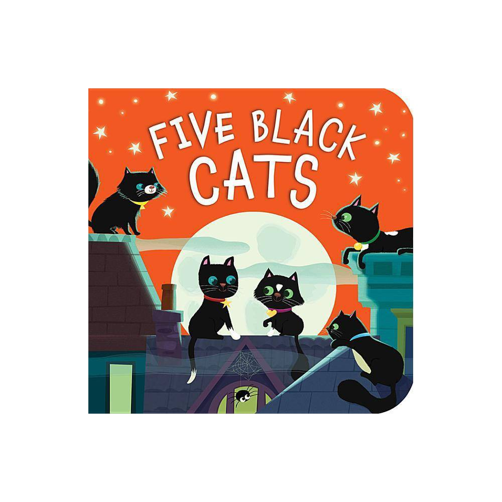 Five Black Cats By Patricia Hegarty Board Book