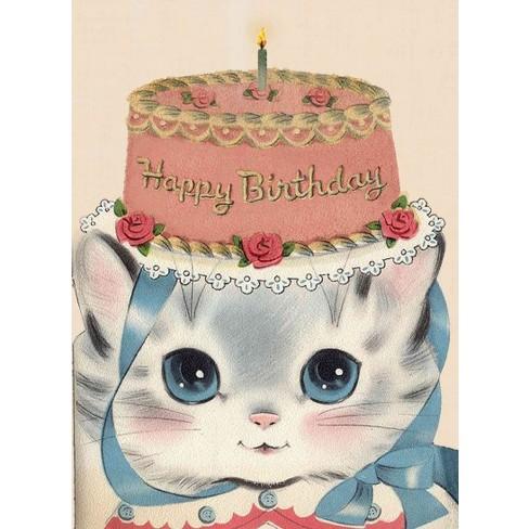 Birthday Hat Kitty