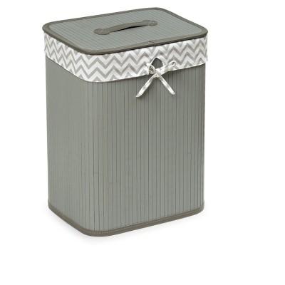 Gray Hamper - Badger Basket