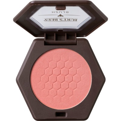 Burt's Bees 100% Natural Blush with Vitamin E - Shy Pink - 0.19oz