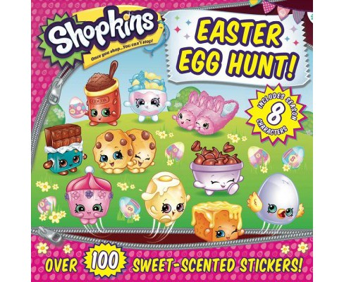 Shopkins Easter Egg Hunt! -  (Shopkins) (Paperback) - image 1 of 1
