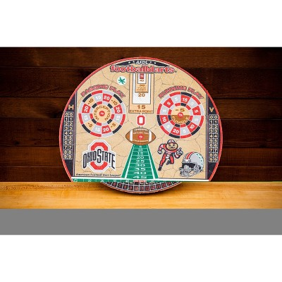 NCAA Ohio State Buckeyes Official Football Dartboard