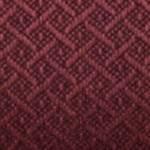 burgundy fabric/gray frame