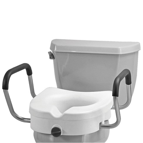 "Nova 5"" Raised Toilet Seat with Arms - White - image 1 of 1"