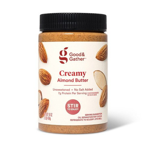 Stir Creamy Almond Butter 16oz - Good & Gather™ - image 1 of 2