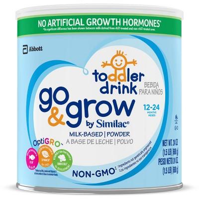 Similac Go & Grow Milk Non-GMO Toddler Formula - 24oz