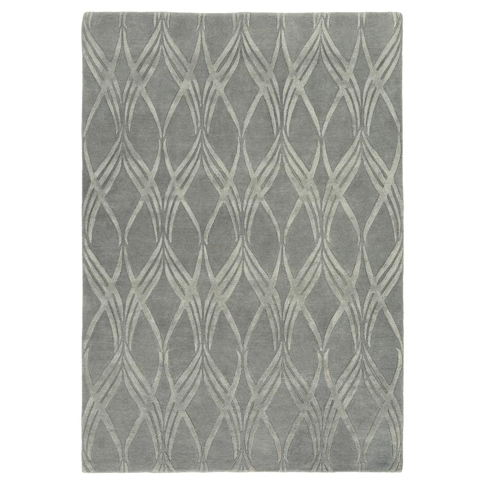 Alikka Area Rug - Charcoal (Grey) - (5' x 7'6) - Surya