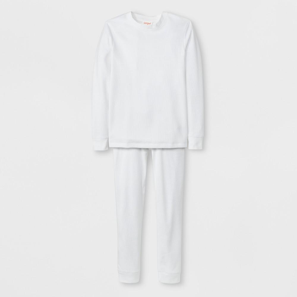 Boys' Thermal Underwear Set - Cat & Jack White XS