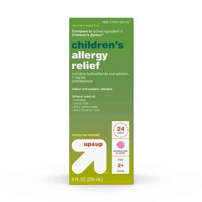 Cetirizine Allergy Relief Liquid - Bubblegum - up & up™