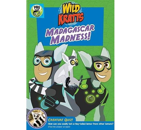 Wild Kratts:Madagascar Madness (DVD) - image 1 of 1
