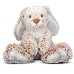 """""""Melissa & Doug Burrow Bunny Rabbit 9"""""""" Stuffed Animal"""""""