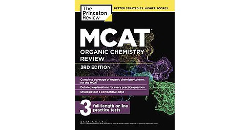 MCAT Organic Chemistry Review (Paperback) - image 1 of 1
