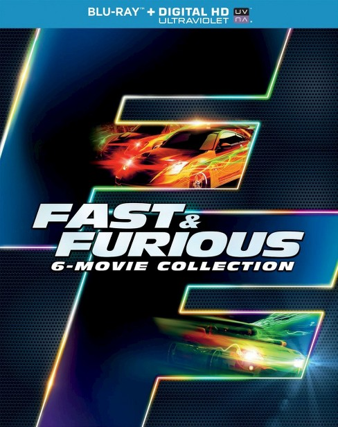Fast & Furious: 6-Movie Collection [Includes Digital Copy] [UltraViolet] [Blu-ray] - image 1 of 1