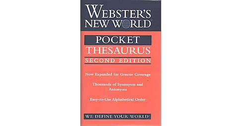 Webster's New World Pocket Thesaurus (Expanded) (Paperback) (Charlton Laird) - image 1 of 1