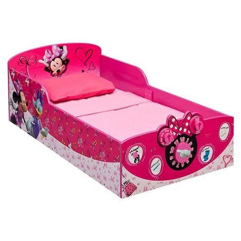 Disney Interactive Wood Toddler Bed Minnie - Delta Children - image 1 of 2
