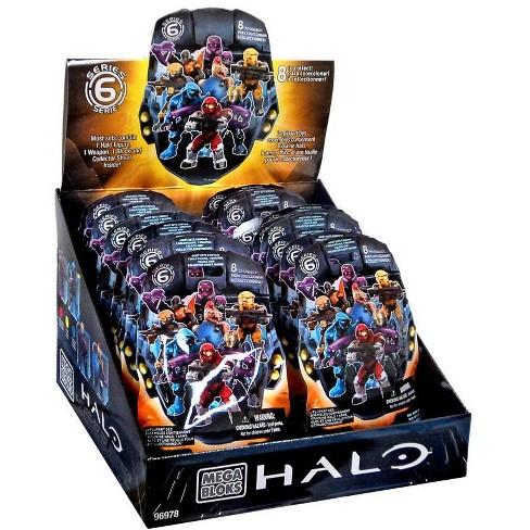 Mega Bloks Halo Series 6 Minifigure Mystery Box #96978-6 [24 Packs] - image 1 of 1